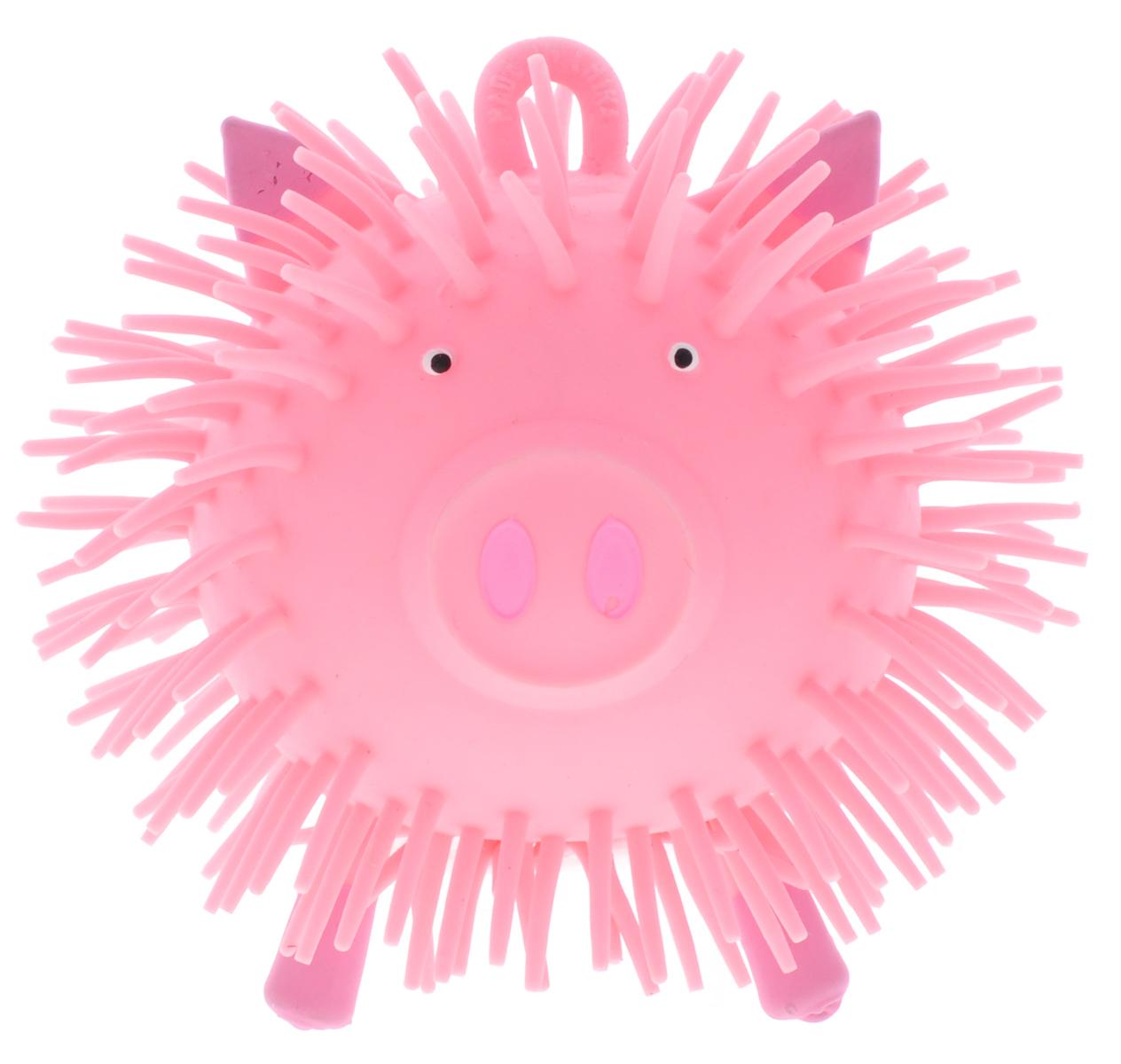 1TOY Игрушка-антистресс Ё-Ёжик Животное цвет розовый