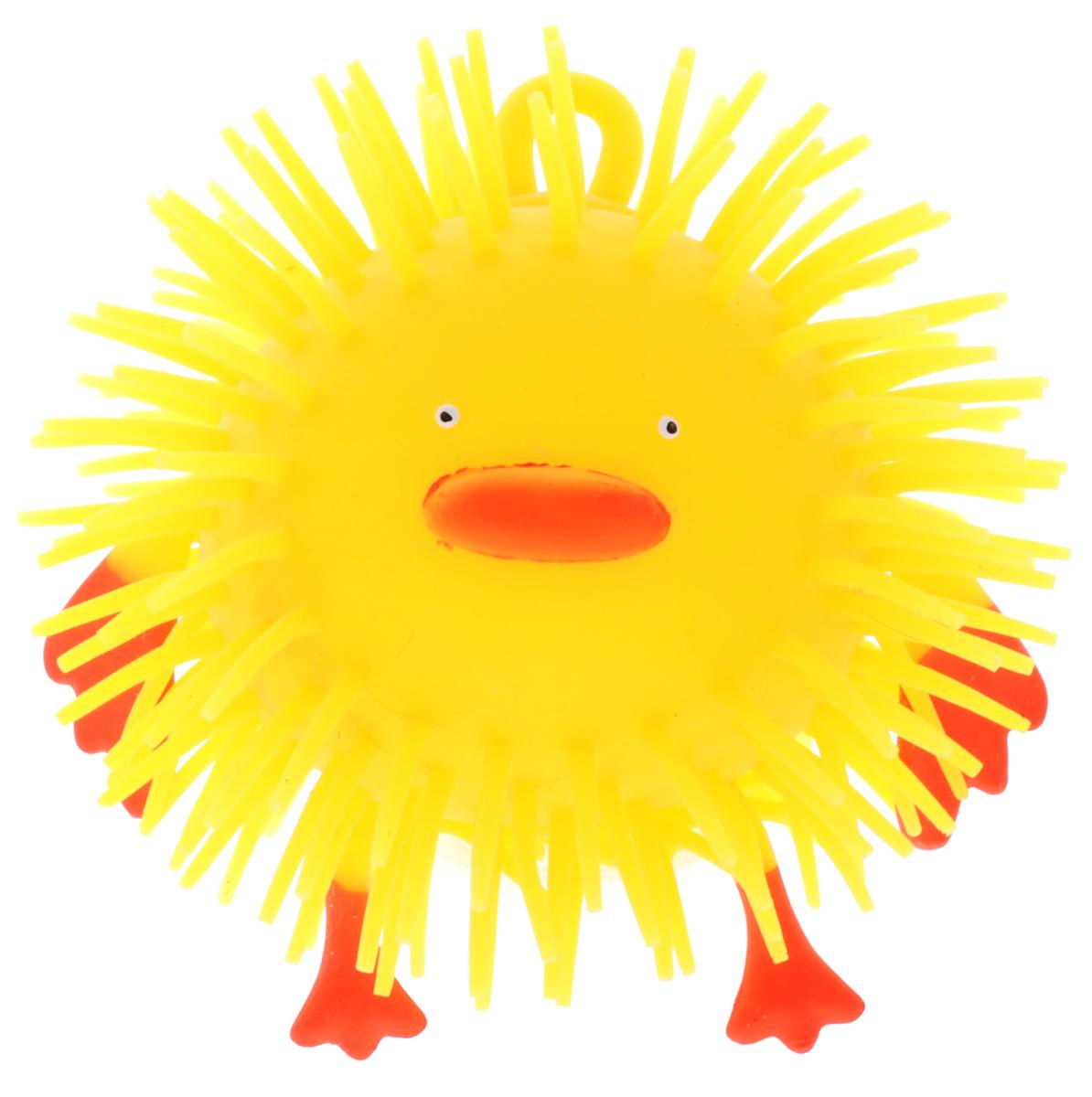 1TOY Игрушка-антистресс Ё-Ёжик Животное цвет желтый