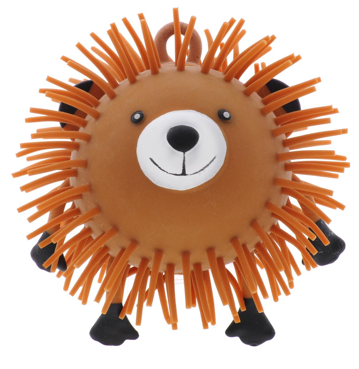 1TOY Игрушка-антистресс Ё-Ёжик Животное цвет коричневый