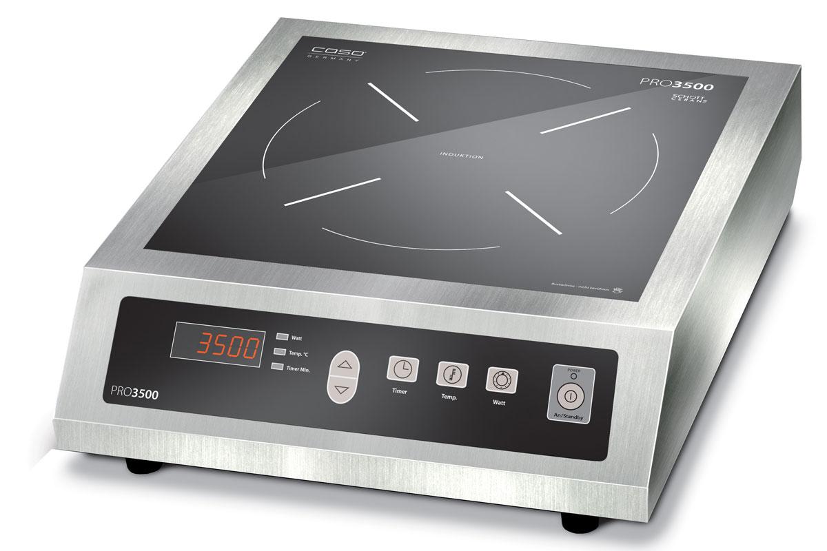 CASO Pro 3500 Touch настольная индукционная плитка индукционная варочная плитка caso inno slide 2100