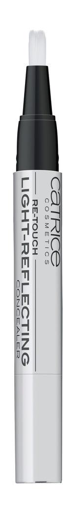 CATRICE Корректор дефектов кожи с кисточкой Re-Touch Light-Reflecting Concealer 010 светло-бежевый, 1,5мл catrice beauty market