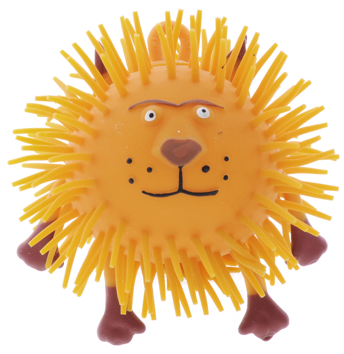 1TOY Игрушка-антистресс Ё-Ёжик Животное цвет оранжевый 1toy игрушка антистресс ё ёжик животное цвет розовый