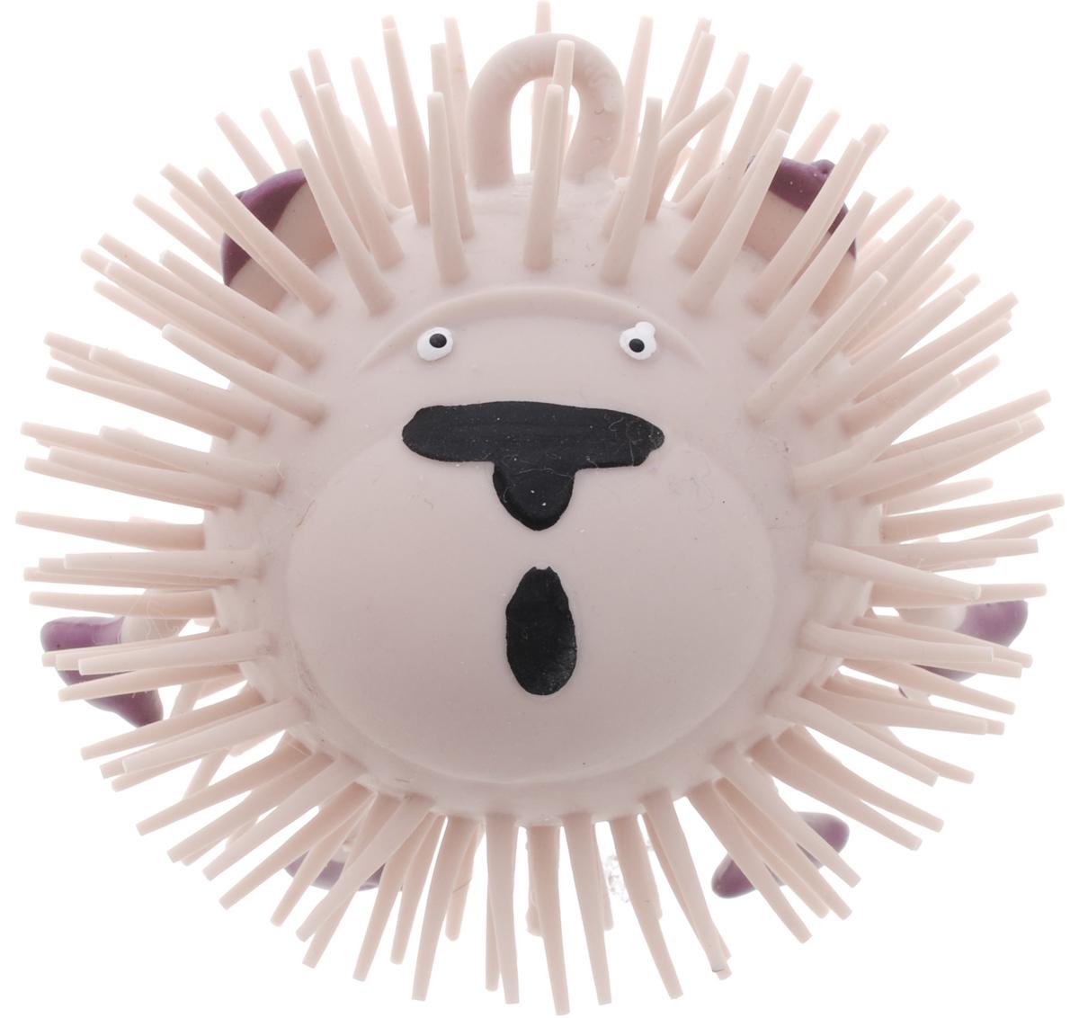 1TOY Игрушка-антистресс Ё-Ёжик Животное цвет бежевый 1toy игрушка антистресс ё ёжик животное цвет розовый