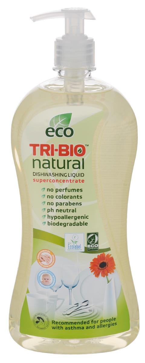 Средство для мытья посуды и рук Tri-Bio, 840 мл цена