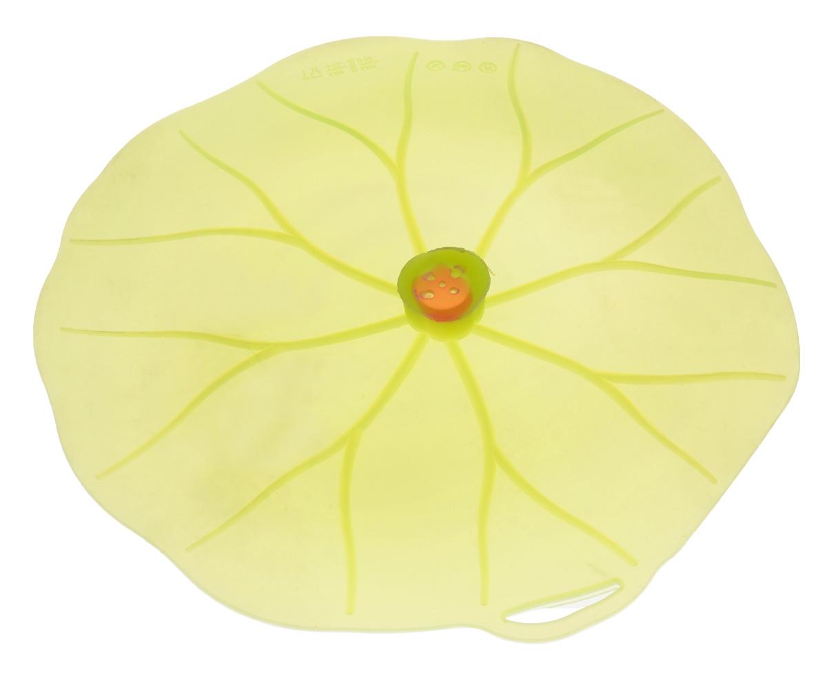 Крышка вакуумная Mayer & Boch Универсал, цвет: зеленый. Диаметр 31 см24873Вакуумная крышка Mayer & Boch Универсал выполнена из пищевого силикона. Она предназначена для герметичного закрытия любой посуды. Крышка плотно прилегает к краям емкости, ограничивая доступ воздуха внутрь, благодаря этому ваши продукты останутся свежими гораздо дольше. Основные свойства: - выдерживает температуру от -40°С до +240°С, - невозможно разбить, - легко моется, - не деформируется при хранении в свернутом виде, - имеет долгий срок службы, сохраняя свой первоначальный вид, - не выделяет вредных веществ при нагревании или охлаждении, - не впитывает запахи, - не вступает в химическую реакцию с продуктами, - подходит для использования на посуде диаметром 15-30 см, - безопасна при использовании в печи, микроволновой печи, посудомоечной машине и морозильной камере.