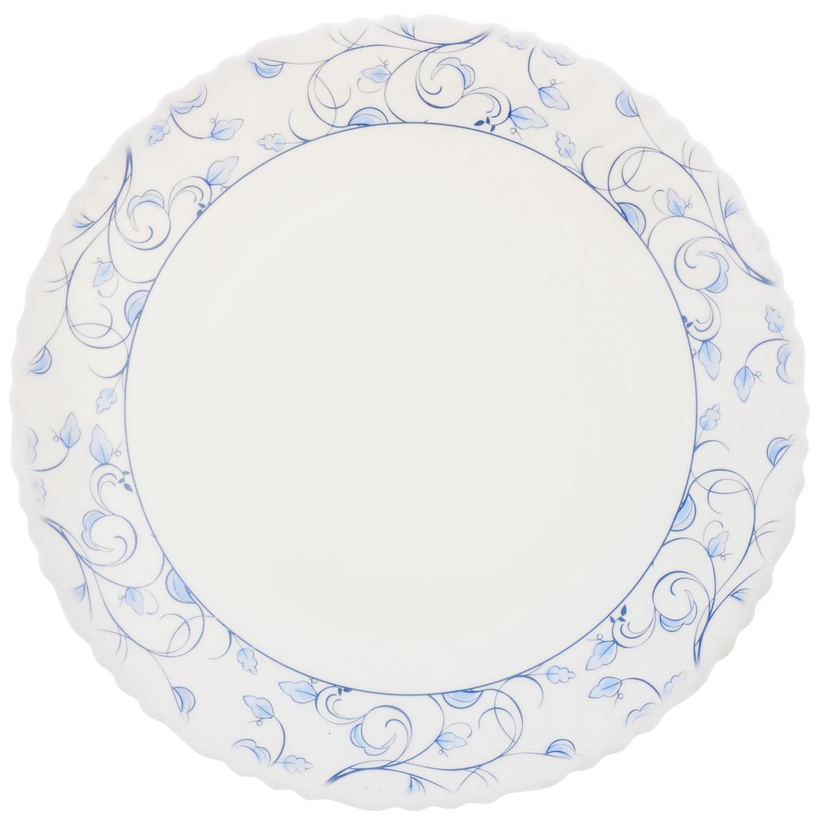 Тарелка десертная Chinbull Нормандия, диаметр 19 см тарелка глубокая chinbull грация диаметр 23 см