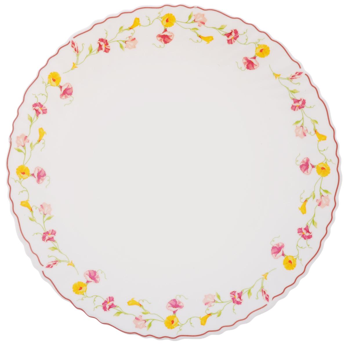 Тарелка обеденная Chinbull Эльзас, диаметр 24 см тарелка глубокая chinbull грация диаметр 23 см