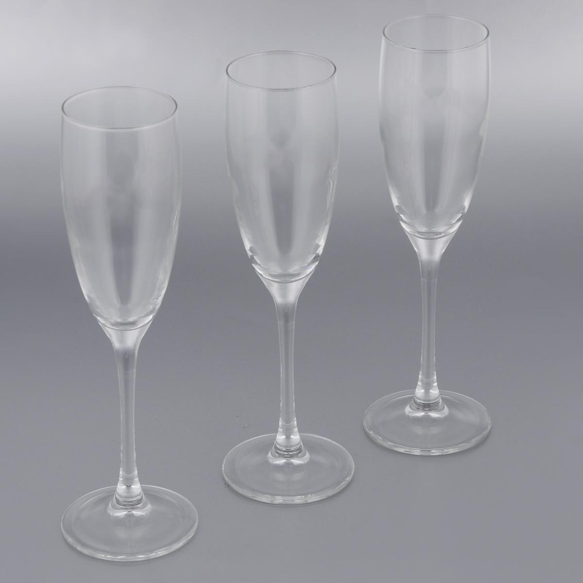 купить Набор фужеров для шампанского Luminarc