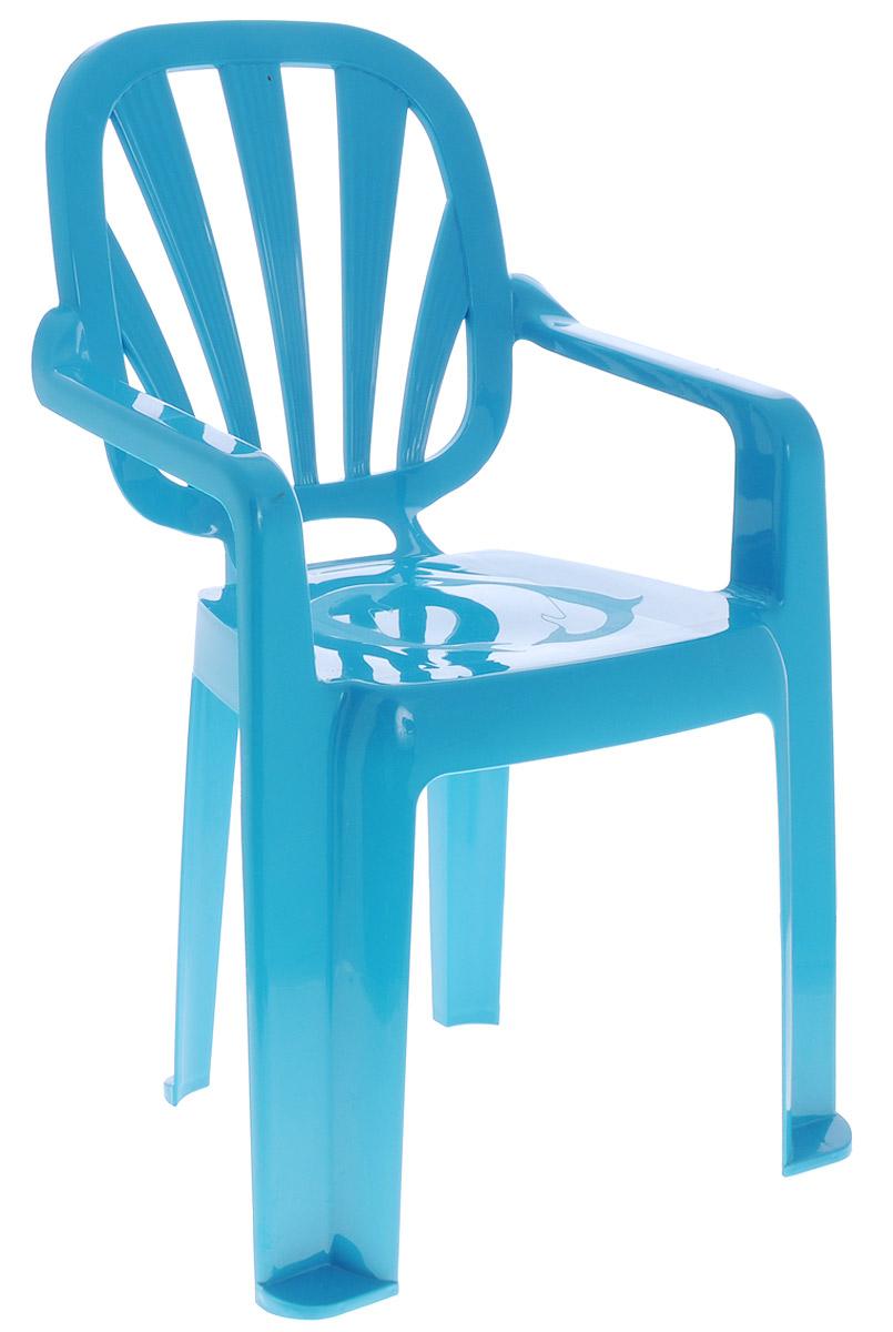 стульчик боровичи стул детский котенок Idea Стульчик детский Арлекино цвет бирюзовый
