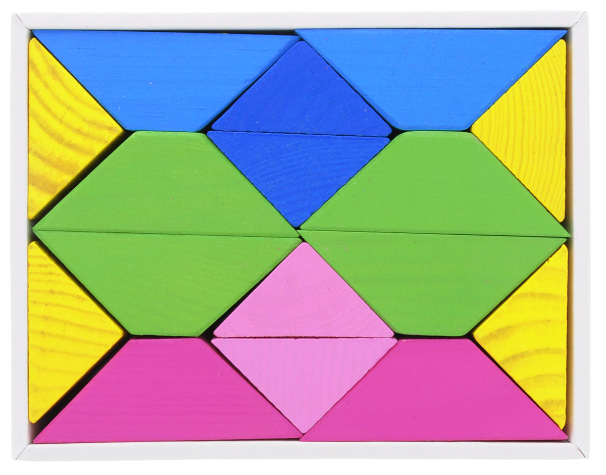Томик Конструктор Цветные треугольники цена