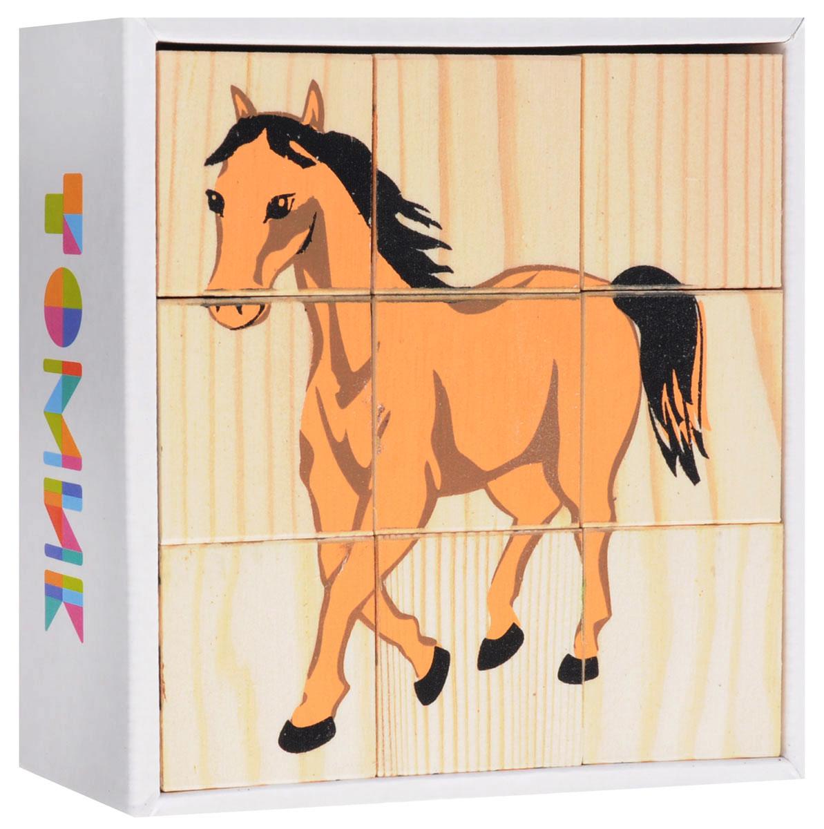 Томик Кубики Домашние животные кубики томик домашние животные