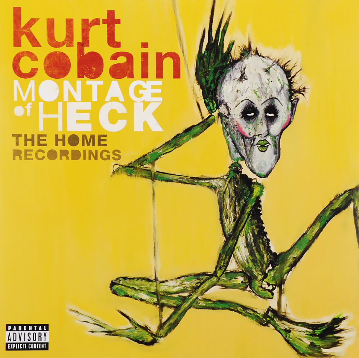 Курт Кобейн Kurt Cobain. Montage of Heck. The Home Recordings. Deluxe (2 LP) rapacia the second circle of heck