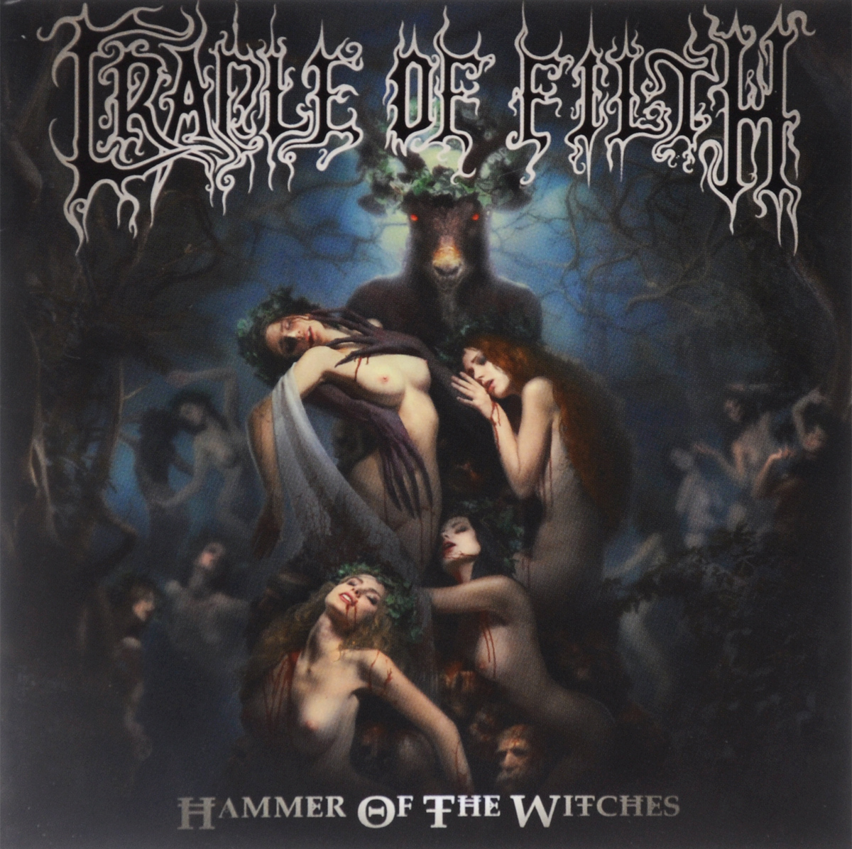 Cradle Of Filth Cradle Of Filth. Hammer Of The Witches майка борцовка print bar cradle of filth