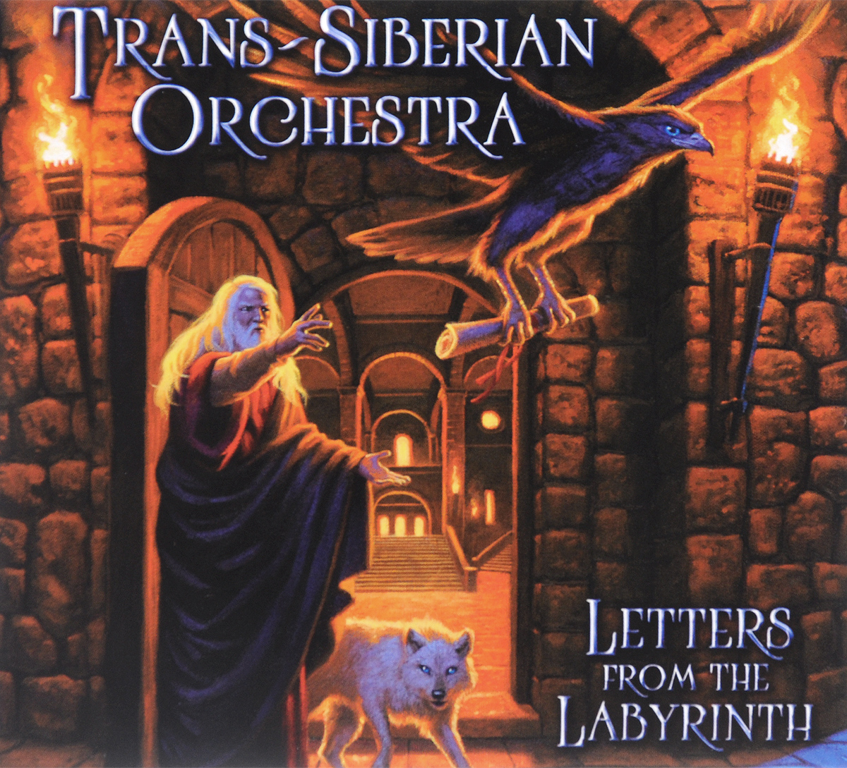 цена на Trans-Siberian Orchestra Trans-Siberian Orchestra. Letters From The Labyrinth