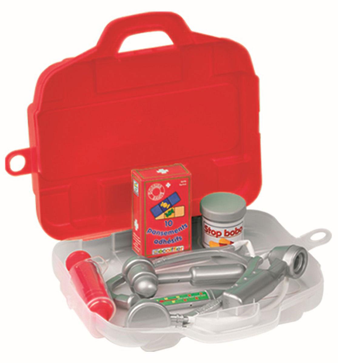 Ecoiffier Набор доктора 7 предметов ecoiffier игрушечный набор сушилка для посуды