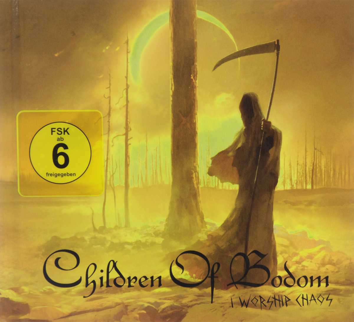 Children Of Bodom Children Of Bodom. I Worship Chaos. Limited Edition (CD + DVD) цена