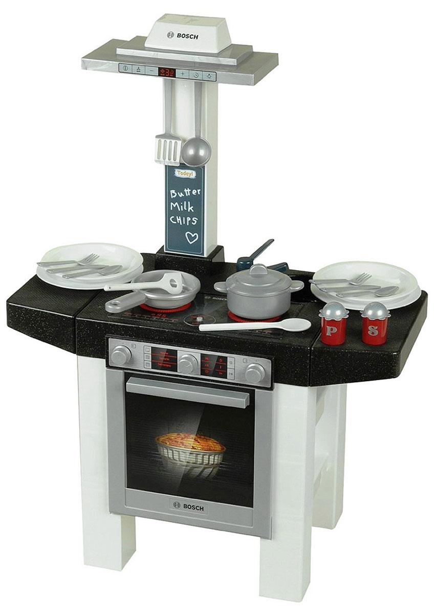 Klein Игровой набор Bosch Кухонный центр Стайл 18 предметов игровой набор klein автосервис bosch с машиной для сборки