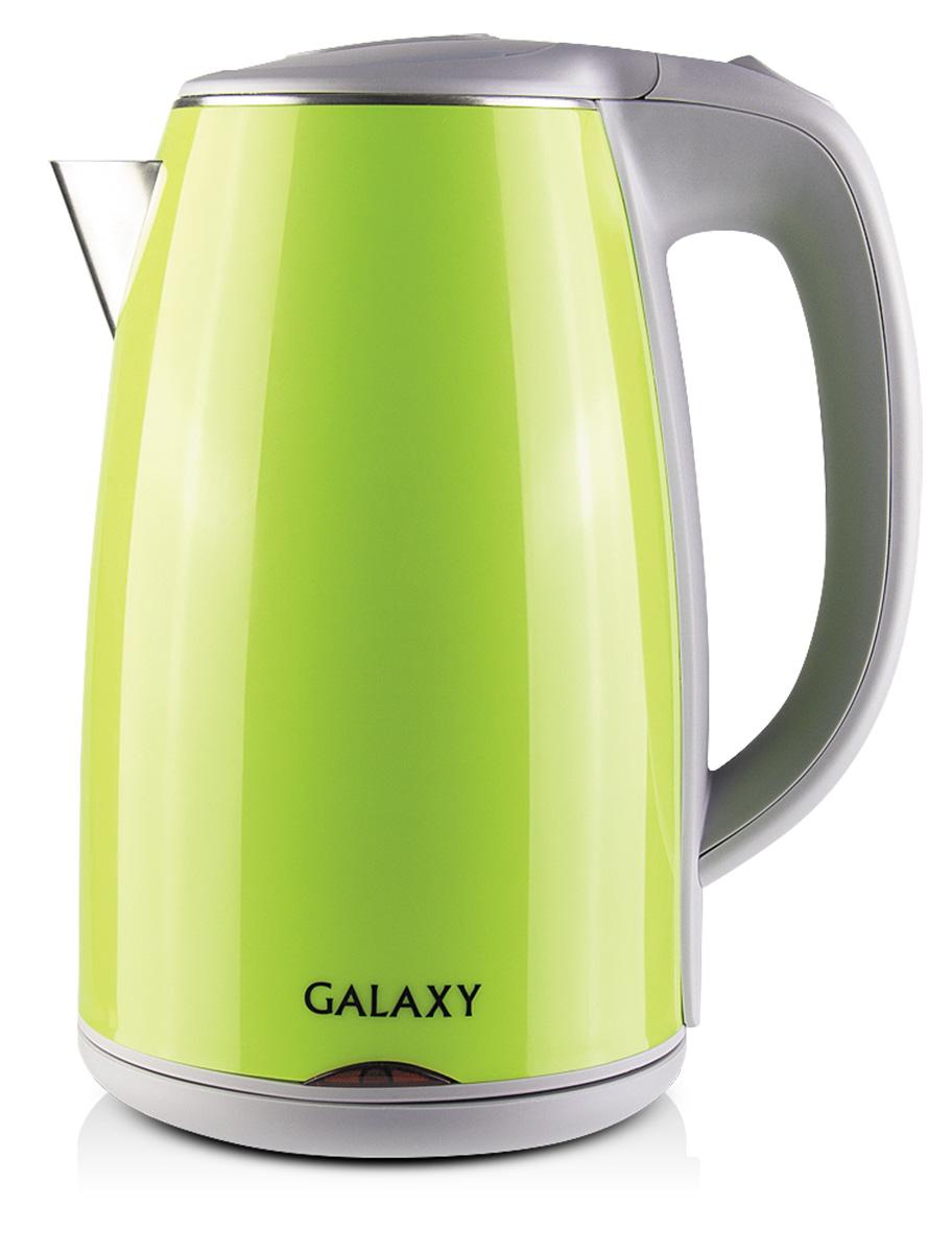 лучшая цена Электрический чайник Galaxy GL0307, Green