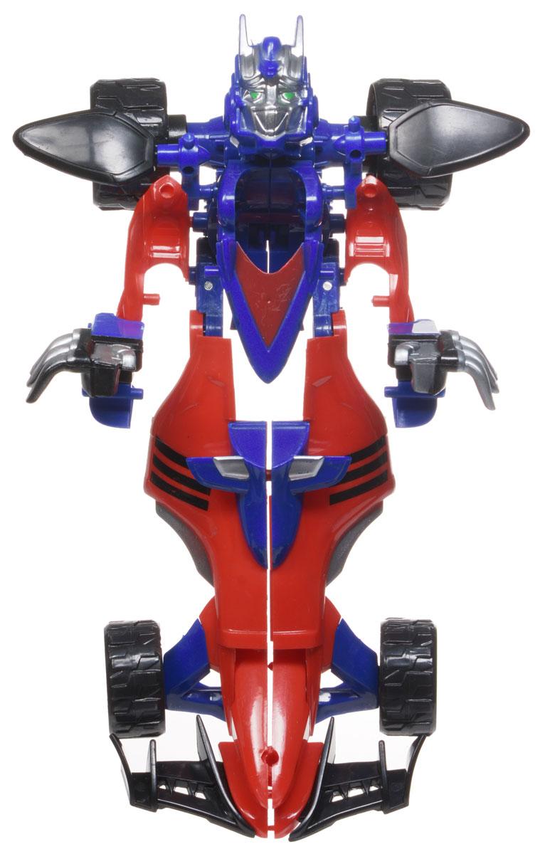 лучшая цена Тилибом Робот-трансформер Стражи галактики цвет синий красный