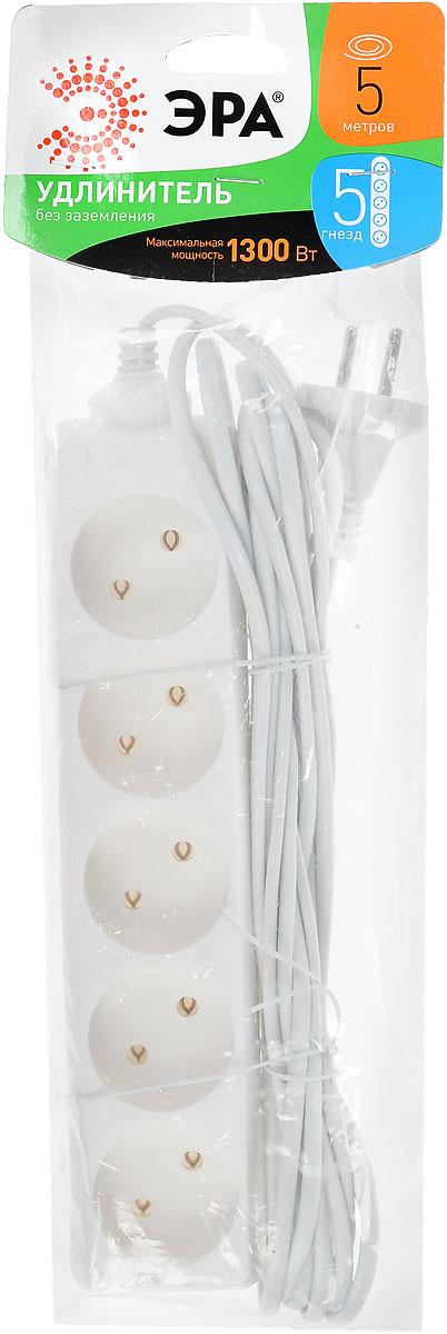 Удлинитель ЭРА UX-5-5m, 5 гнезд, 5 м цены
