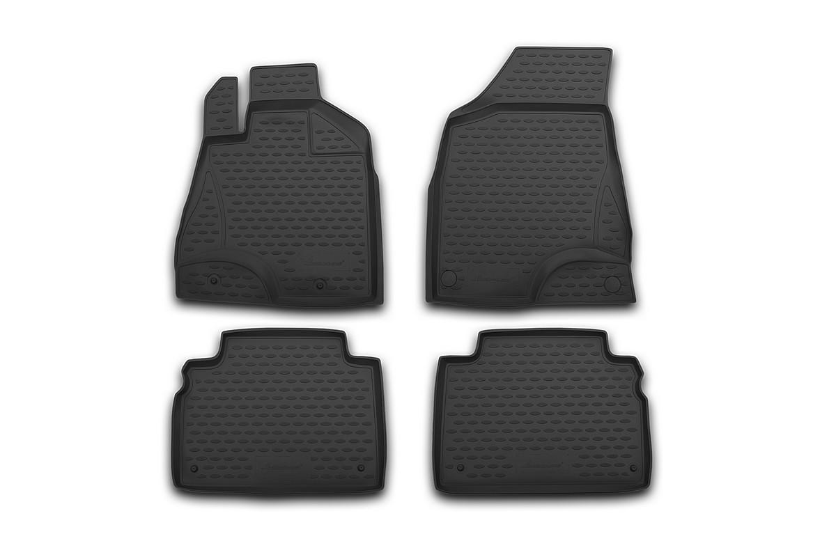 Набор автомобильных ковриков Element для Citroen DS3 2011-, в салон, 4 шт комплект ковриков в салон автомобиля element chery indis 2011