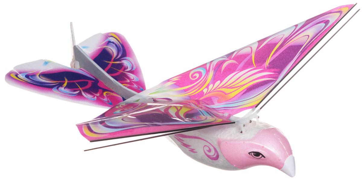 Balbi Игрушка на радиоуправлении Летающая птица цвет розовый