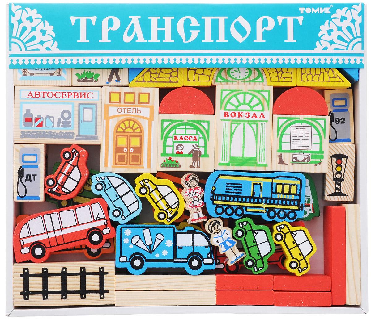 Томик Конструктор Городской транспорт цена и фото