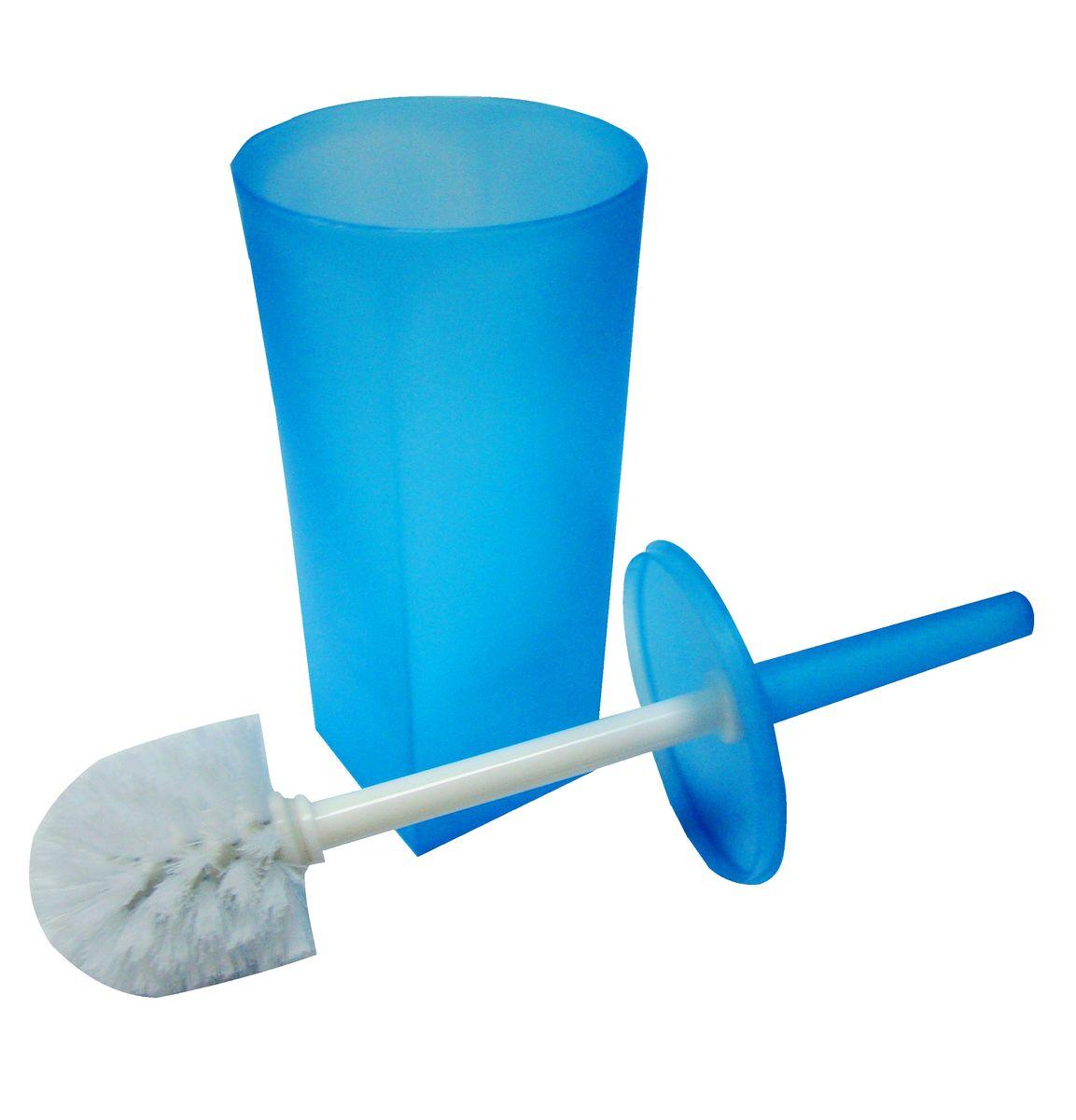 Ершик для унитаза Vanstore Summer Blue, с подставкой, цвет: синий ершик для унитаза vanstore 339 06 оранжевый