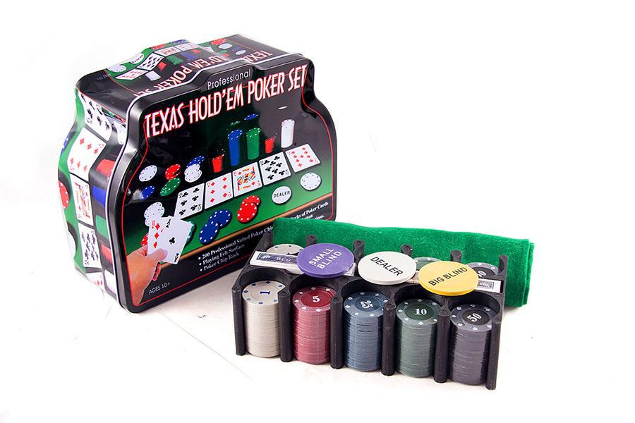 Подарочный набор Русские Подарки Покер, размер: 15*20*12 см. 4244942449