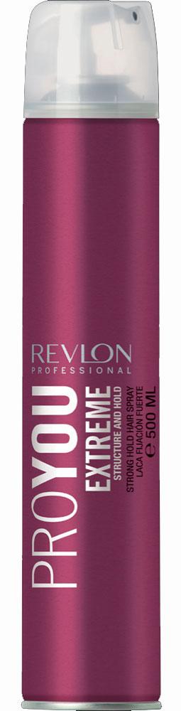 Revlon Professional Pro You Лак для волос сильной фиксации Extreme 500 мл7203149000/7237804000Лак для волос сильной фиксации от Revlon позволит Вам сохранить идеальную прическу в течение целого дня! Средство надежно фиксирует форму Ваших волос и дарит только приятные ощущения! Лак создает на поверхности волос прозрачный слой, защищающий Ваши волосы от неблагоприятных факторов внешней среды и укрепляющий корни и фибру волос. В состав лака входит экстракт ростков риса, обладающий очистительным и восстанавливающим действием. Средство не увеличивает натуральный вес волос, легко удаляется при процедуре расчесывания и дарит Вашим волосам насыщенный цвет и ослепительный блеск.