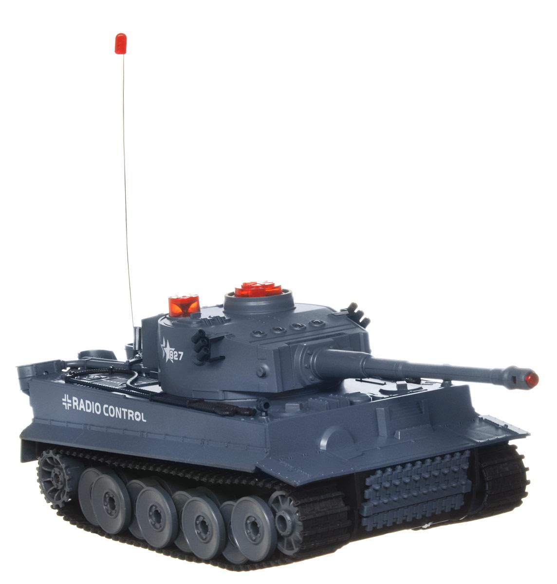 ABtoys Танк на радиоуправлении C-00058 радиоуправляемый танк abtoys с инфракрасным наведением звук свет c 00058 518