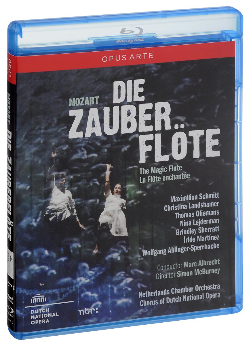 Mark Albrecht: Wolfgang Amadeus Mozart: Die Zauberflote (Blu-ray) цена