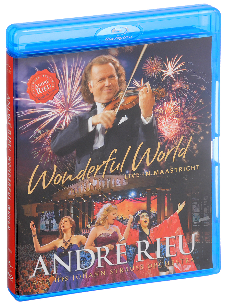 Фото - Andre Rieu: Wonderful World: Live In Maastricht (Blu-ray) андрэ рье andre rieu dreaming