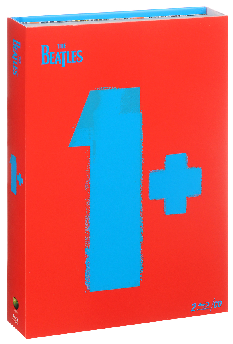 The Beatles: 1+ (2 Blu-ray + CD) утюг 4919