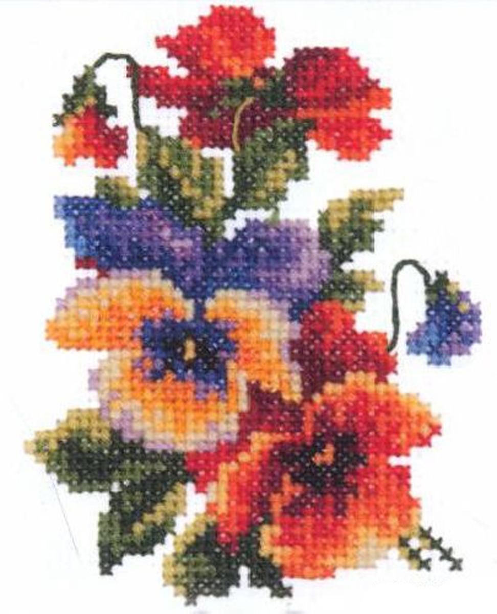 Набор для вышивания крестом Чудесная игла Яркое сияние, 8 х 11 см набор для вышивания крестом чудесная игла яркое сияние 8 х 11 см