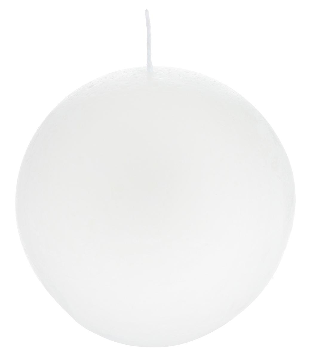 Свеча декоративная Proffi Шар, цвет: белый, диаметр 7,5 см свеча декоративная proffi шар цвет белый диаметр 7 5 см