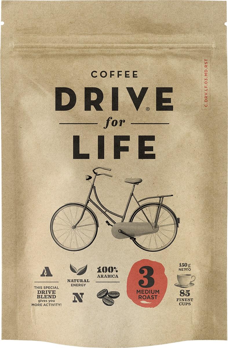 Drive for Life Medium кофе сублимированный, 150 г drive for life extra strong кофе сублимированный 150 г
