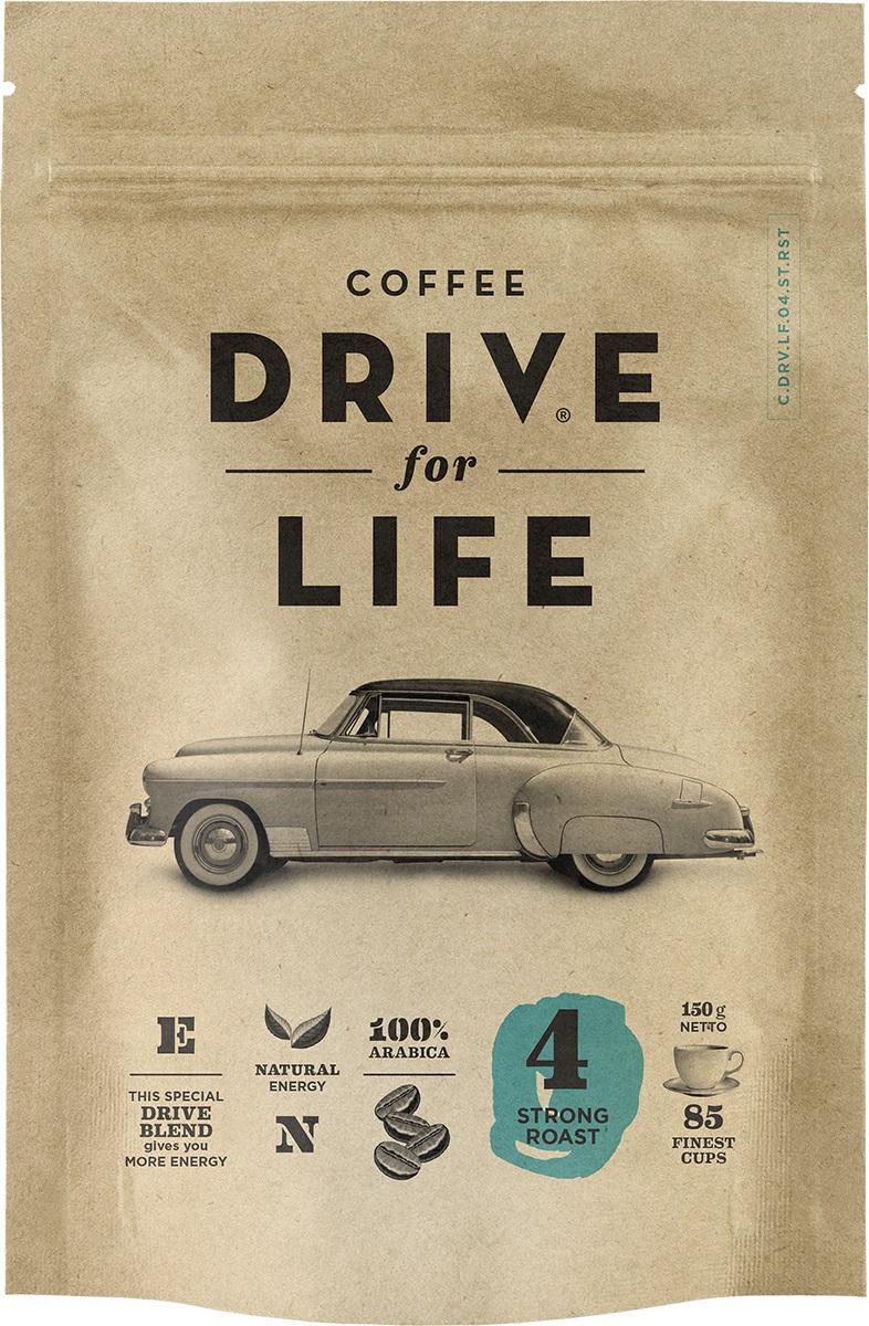 Drive for Life Strong кофе сублимированный, 150 г drive for life extra strong кофе сублимированный 150 г