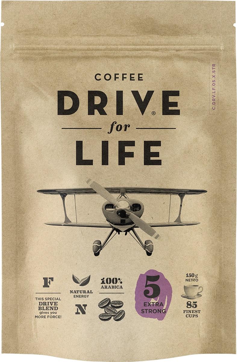 цены на Drive for Life Extra Strong кофе сублимированный, 150 г  в интернет-магазинах