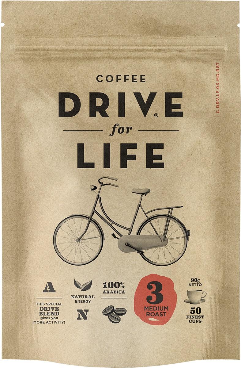 Drive for Life Medium кофе сублимированный, 90 г drive for life extra strong кофе сублимированный 150 г