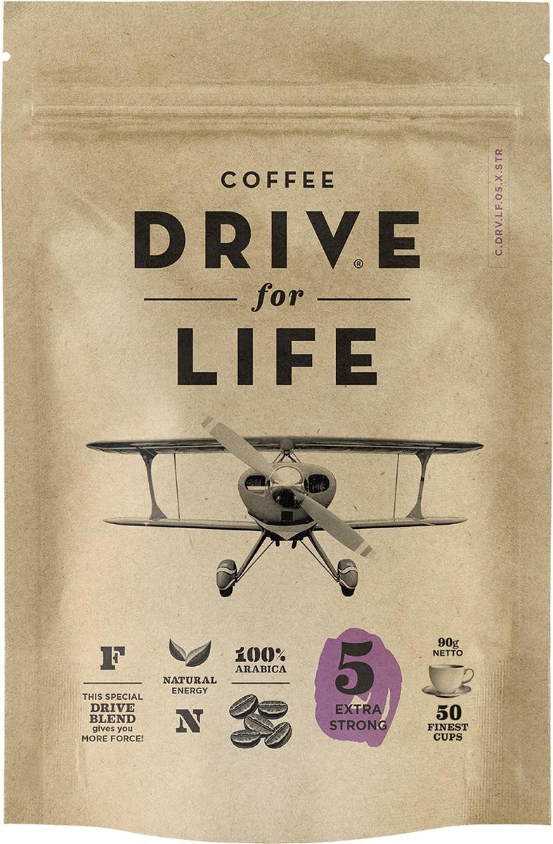 цены на Drive for Life Extra Strong кофе сублимированный, 90 г  в интернет-магазинах