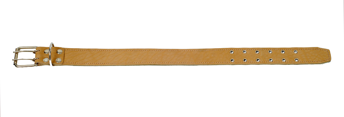 "Ошейник ""Аркон"", 45 мм, брезент+кожа длинный. о45бк/д"