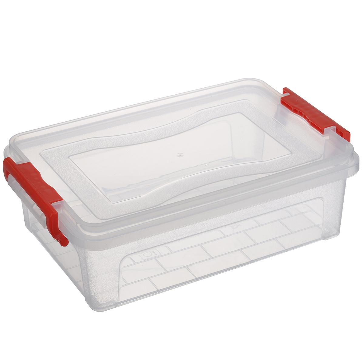 Контейнер для хранения Idea, прямоугольный, цвет: прозрачный, 3,6 л контейнер для хранения idea прямоугольный цвет салатовый прозрачный 8 5 л