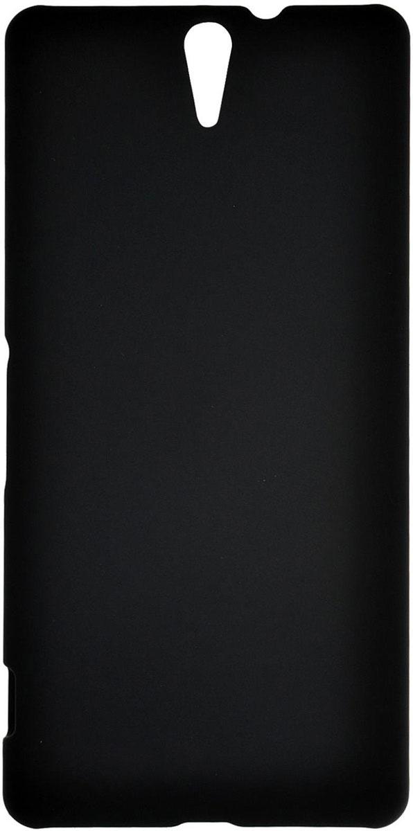 Skinbox 4People чехол для Sony Xperia C5 Ultra, Black чехол для sony e6683 xperia z5 skinbox 4people черный