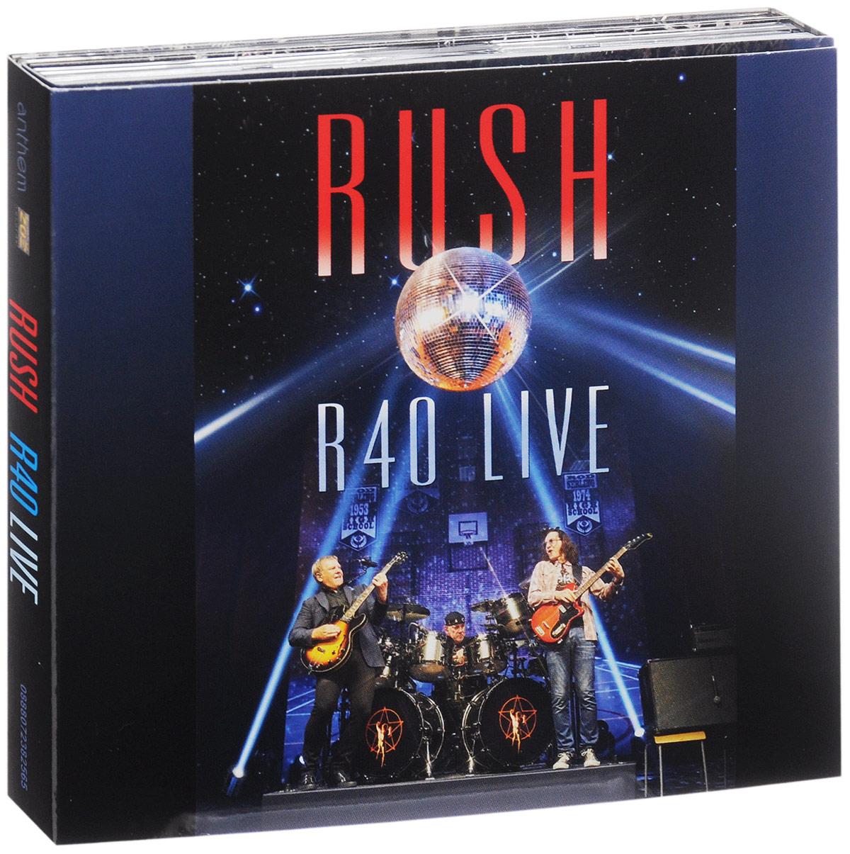Rush Rush. R40 Live (3 CD) rush rush 2112 deluxe edition cd blu ray