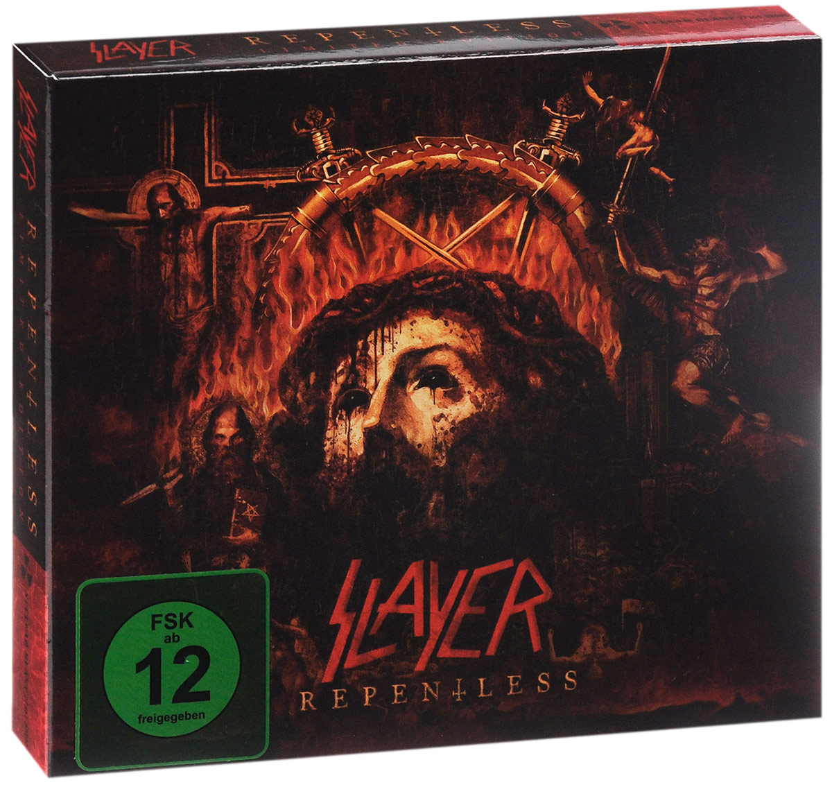 Slayer Slayer. Repentless. Limited Edition (CD + DVD) 10 hd digital lcd screen car headrest monitor dvd cd player ir fm with remote controller remote mount bracket car player new