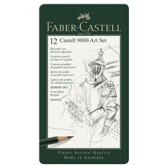 Faber-Castell Карандаш чернографитовый 12 шт цены