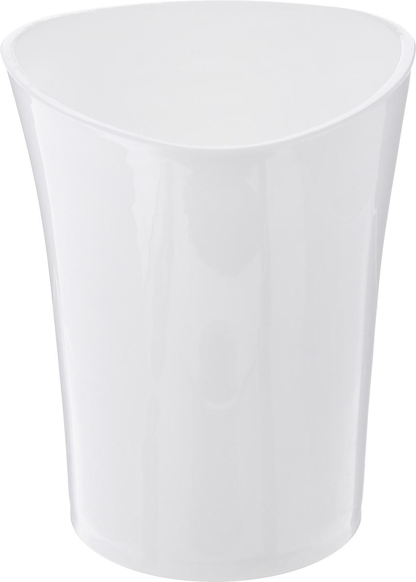 цена на Стакан для ванной комнаты Vanstore Wiki White, цвет: белый, высота 10 см