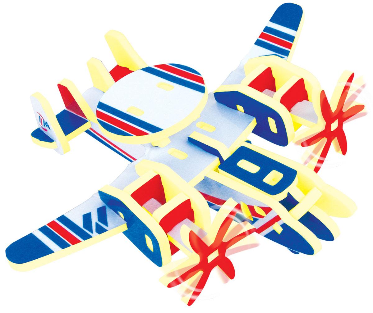 Bebelot 3D мягкий конструктор Самолет-разведчик конструктор bebelot basic ретро автомобиль