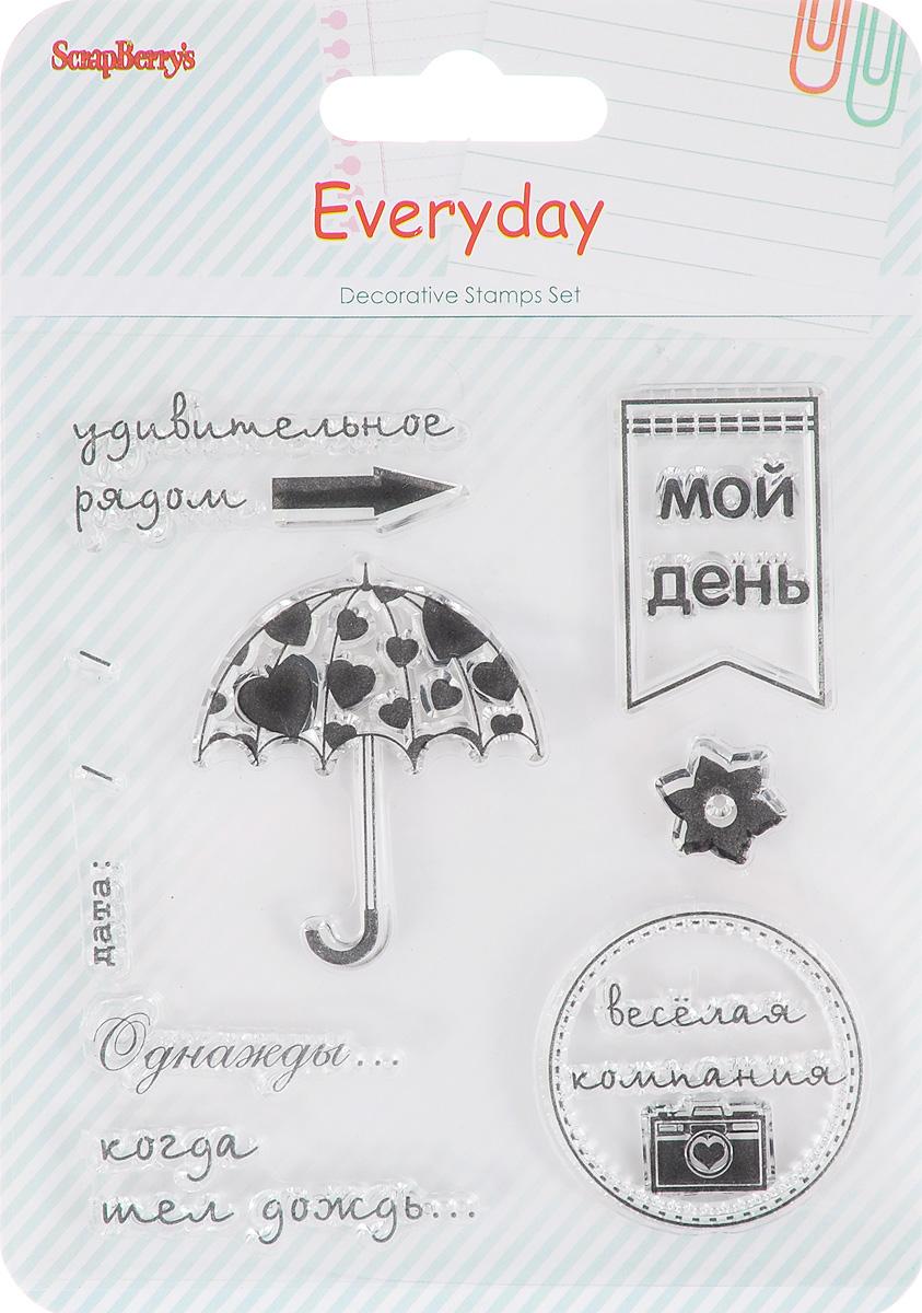 """Набор декоративных <b>штампов</b> ScrapBerry's """"День за днем. Мой ..."""